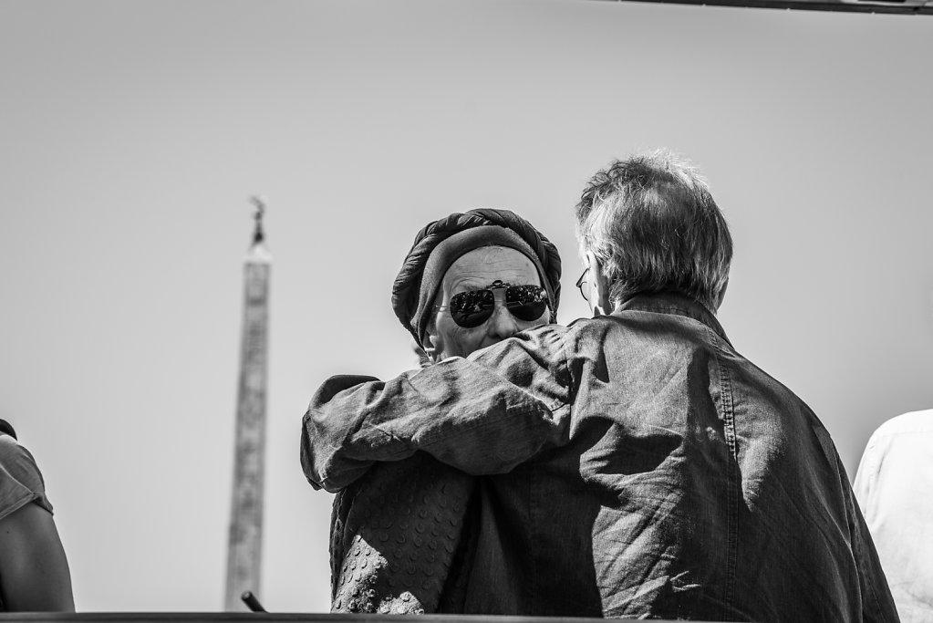 Emma Bonino e Adriano Sofri