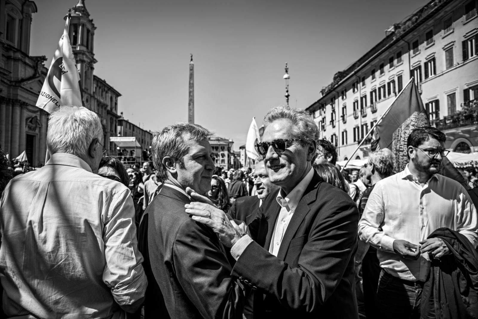 Benedetto Della Vedova e Francesco Rutelli